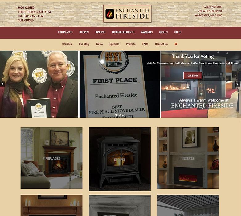 Enchanted Fireside's Website