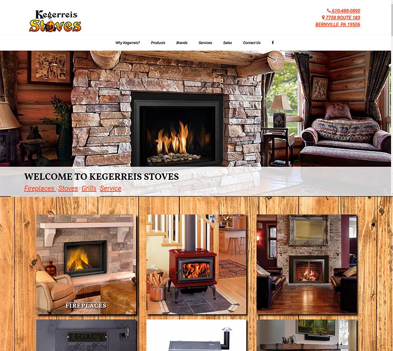 Kegerreis Stoves Website