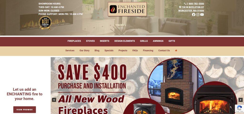 Enchanted Fireside