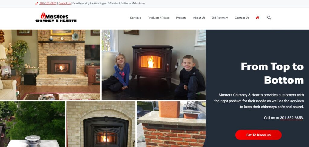 Masters Chimney and Hearth